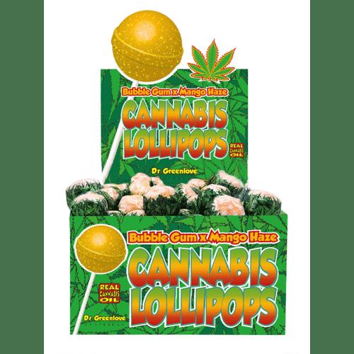 sucette cbd bubble gum mango haze