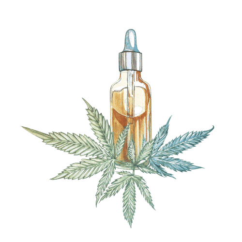 CBD voie sublinguale