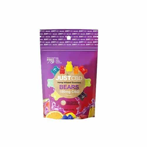 gummies vegan Ourson CBD bonbon