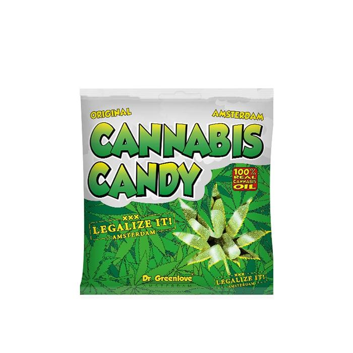 bonbon au cbd cannabis candy