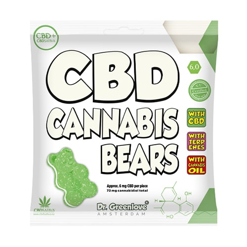 bonbon cbd cannabis bear