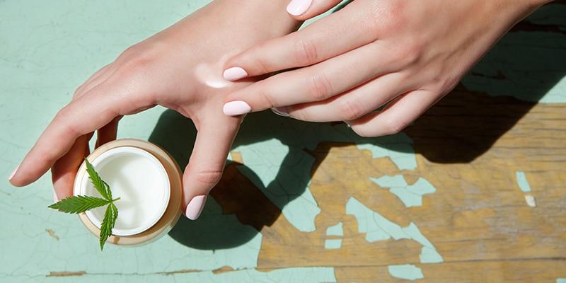 chanvre cosmétique verte