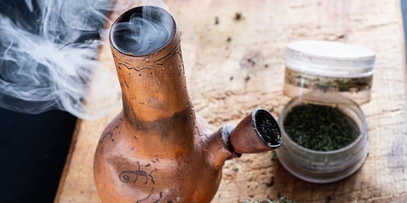 fumer CBD gang ou pipe
